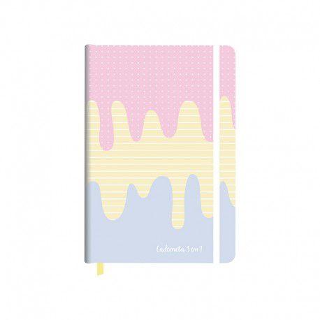 Caderneta REDOMA 3 Em 1 Candy
