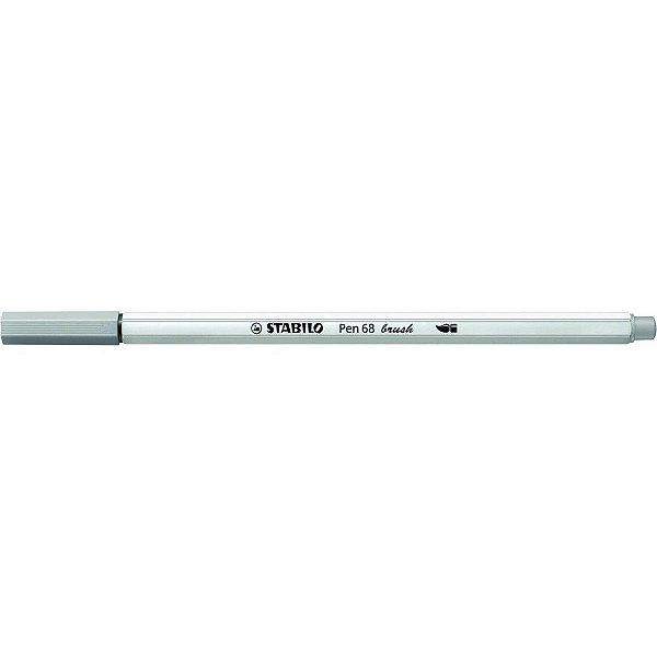 Caneta STABILO Brush Pen 68 Cinza (95)