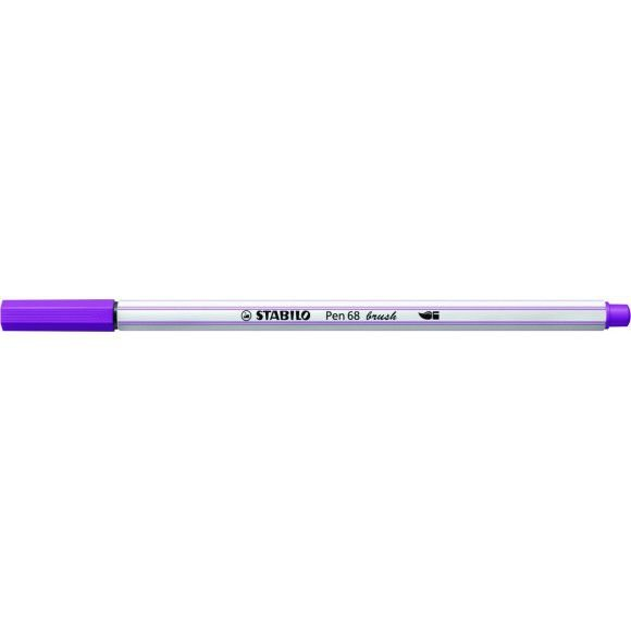 Caneta STABILO Brush Pen 68 Lilás (58)