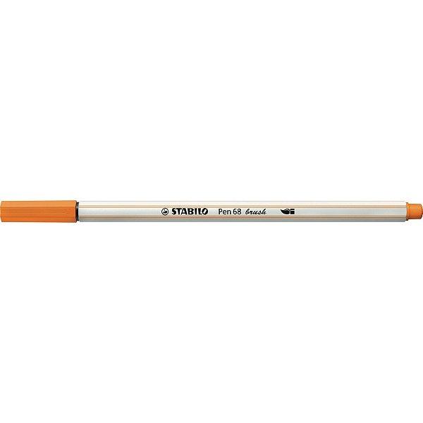 Caneta STABILO Brush Pen 68 Laranja (54)