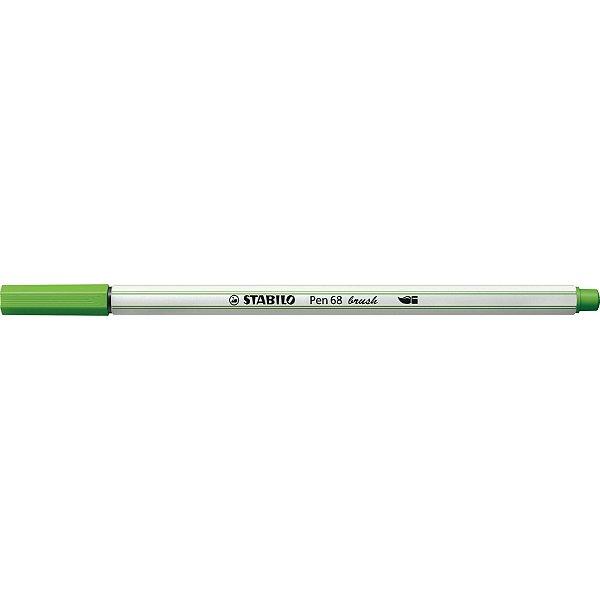 Caneta STABILO Brush Pen 68 Verde Claro (33)