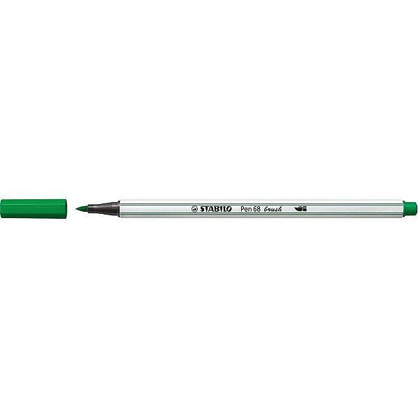 Caneta STABILO Brush Pen 68 Verde Oliva (36)