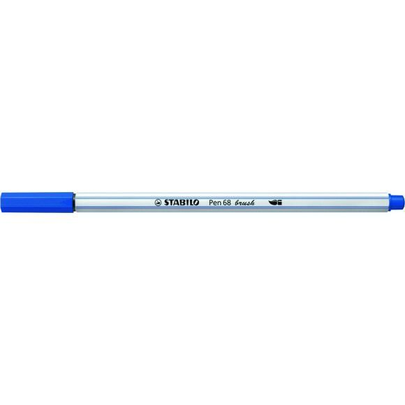 Caneta STABILO Brush Pen 68 Azul Royal (32)