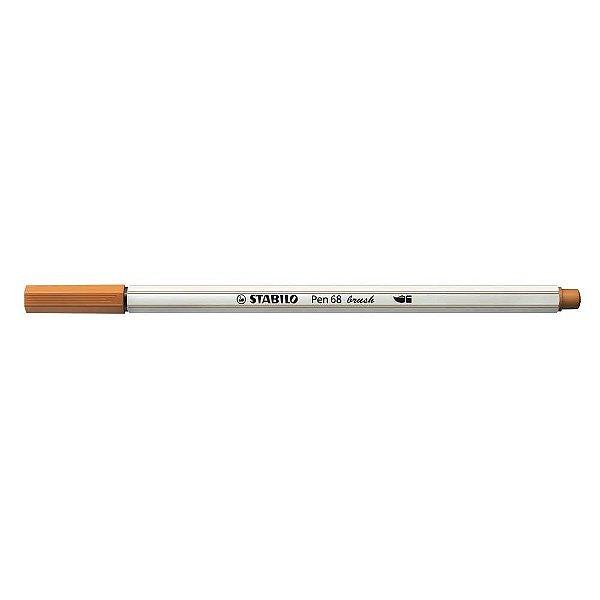 Caneta STABILO Brush Pen 68 Marrom Claro (89)