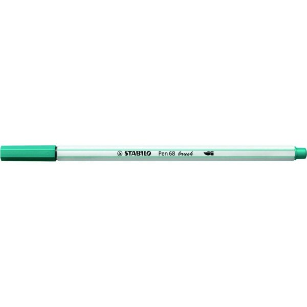 Caneta STABILO Brush Pen 68 Azul Turquesa (51)