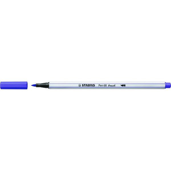 Caneta STABILO Brush Pen 68 Violeta (55)