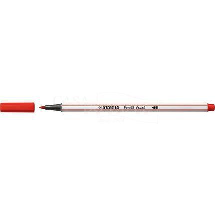 Caneta STABILO Brush Pen 68 Vermelha (48)