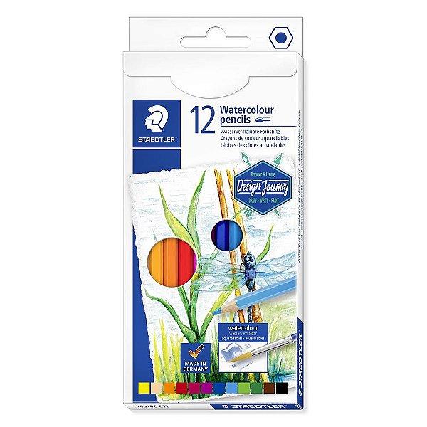 Lápis de cor STAEDTLER Aquarelável c/12