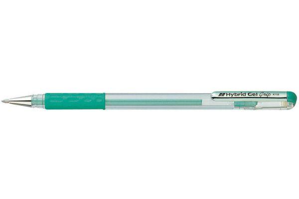Caneta PENTEL Hybrid Gel Metálica Verde