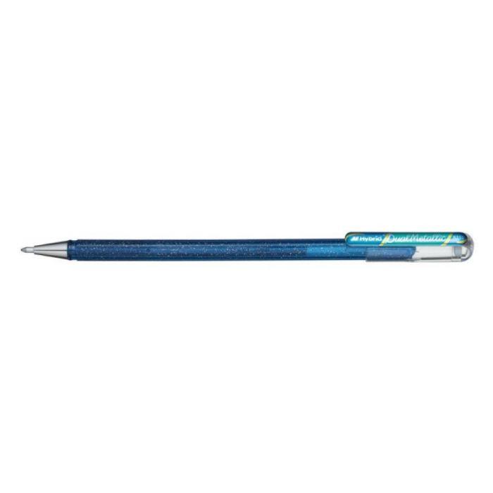Caneta PENTEL Hybrid Dual Metallic Azul
