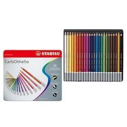 Estojo Metal de Lápis de Cor STABILO Carbothello 24 Cores