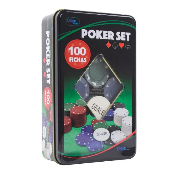 Poker Set c/100 Fichas