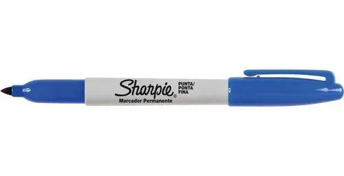 Marcador Permanente SHARPIE Fino Azul