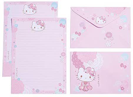 Papel de Carta Hello Kitty Sakura - TECA