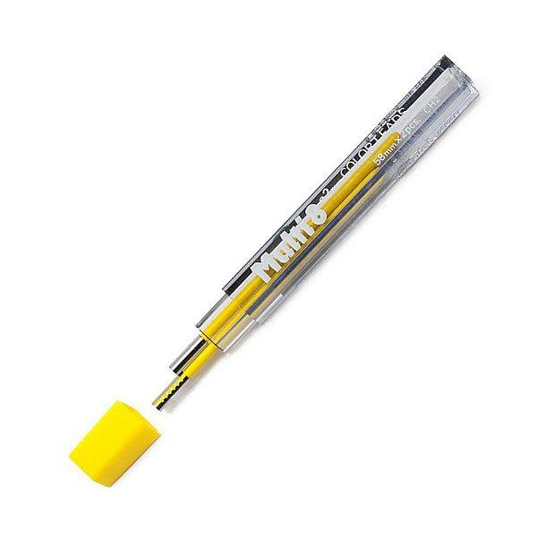 Grafite PENTEL 2.0mm Amarela