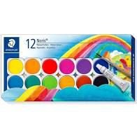 Kit Aquarela STAEDTLER Noris Club 12 Cores