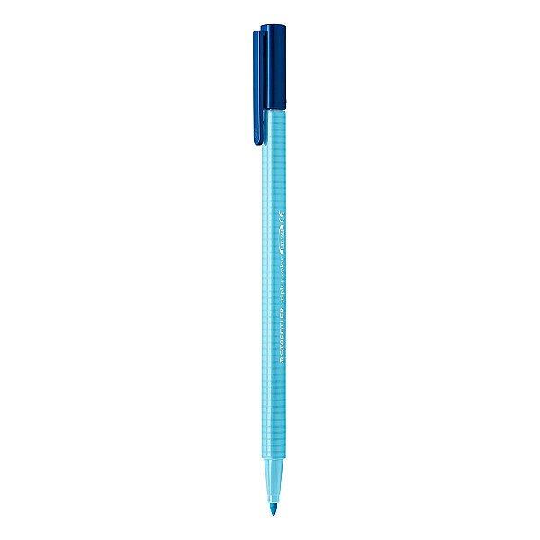 Caneta STAEDTLER Triplus Fibre-Tip Azul Aqua