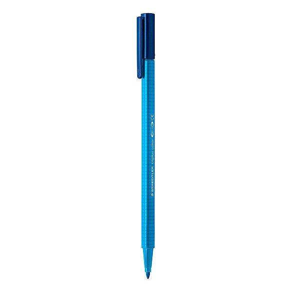 Caneta STAEDTLER Triplus Fibre-Tip Azul Cobalto