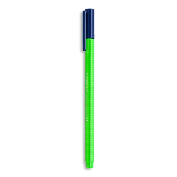 Caneta STAEDTLER Triplus Fibre-Tip Verde Neon