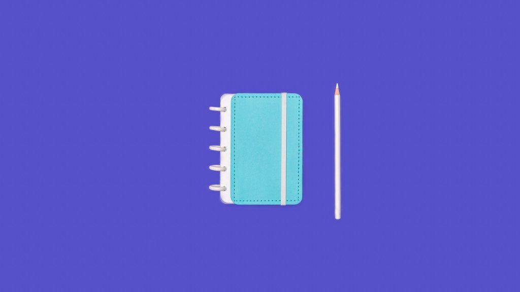 CADERNO INTELIGINE Azul Celeste