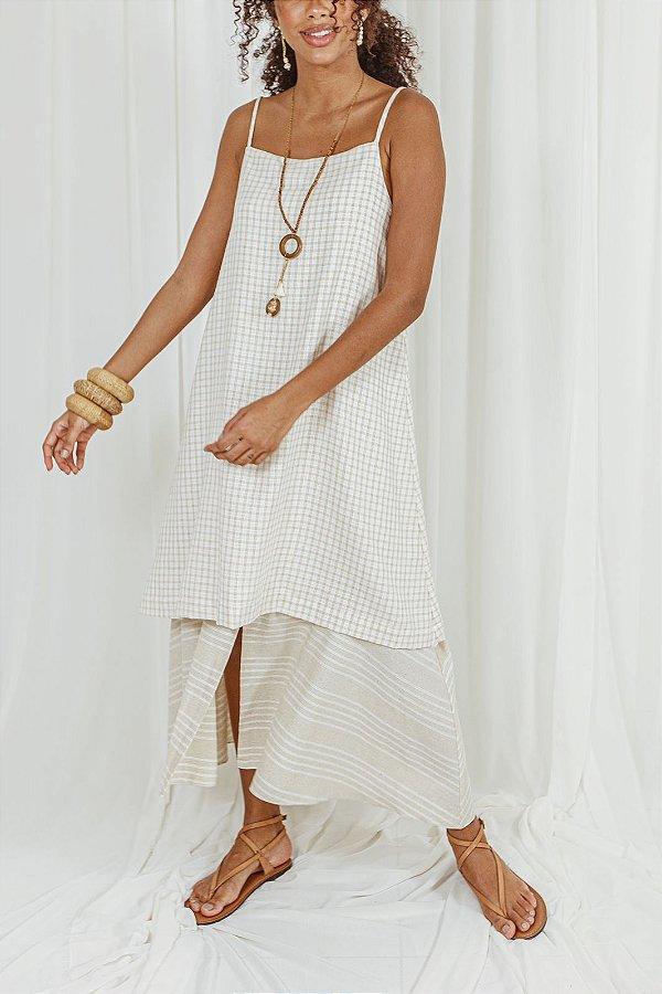 Vestido palha