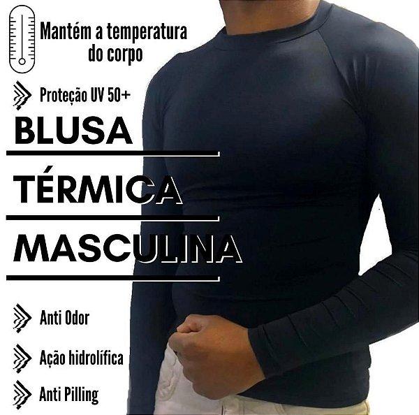 CAMISA TERMICA PROTECAO UV 50FPS