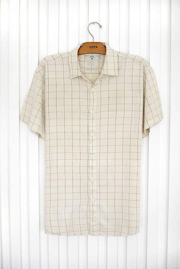 Camisa M/C Bege