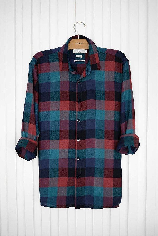 Camisa Xadrez Colorida