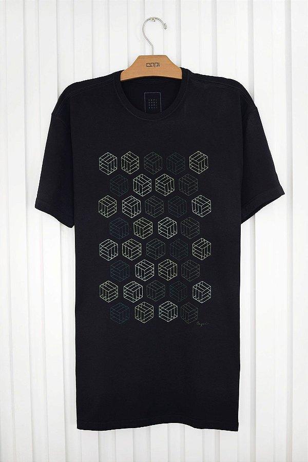 T-shirt Silk Cubes