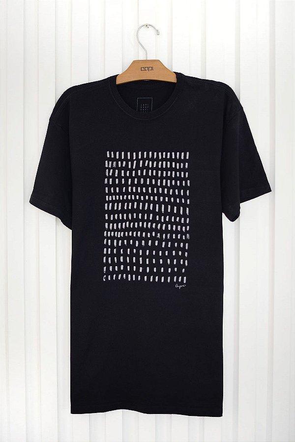 T-shirt Silk Traços