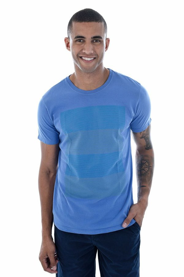 T-Shirt Silk Blocado