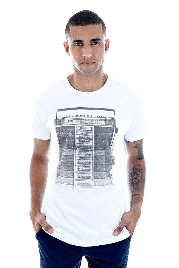 T-Shirt Silk Boombox