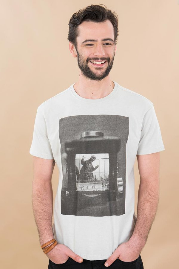 T-Shirt Silk Godzilla