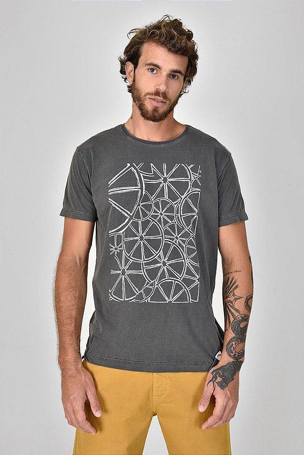 T-shirt Silk Lemon