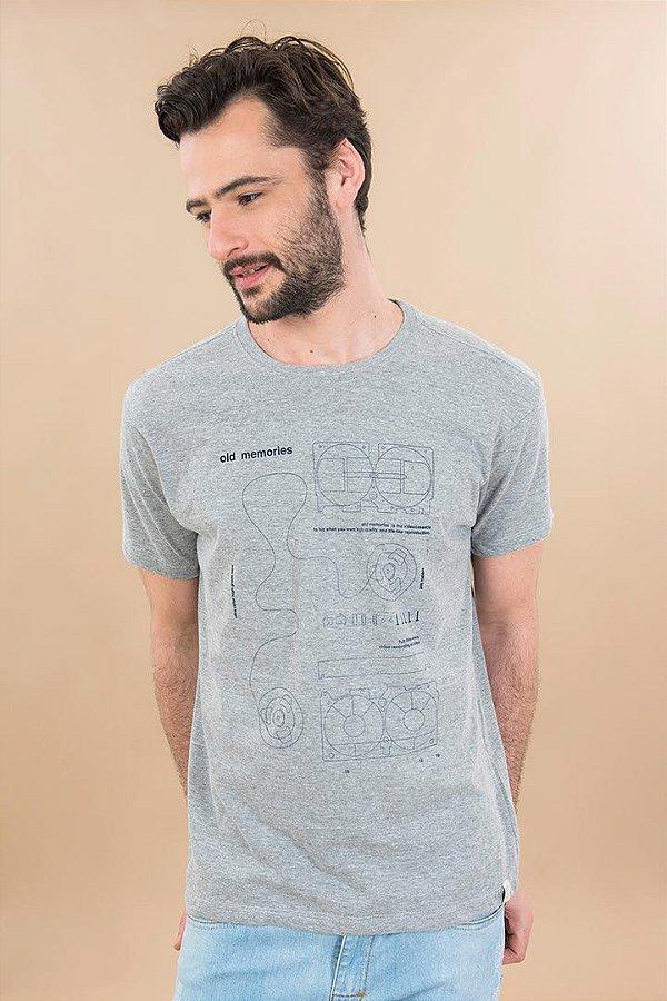 T-Shirt Silk Old Memories