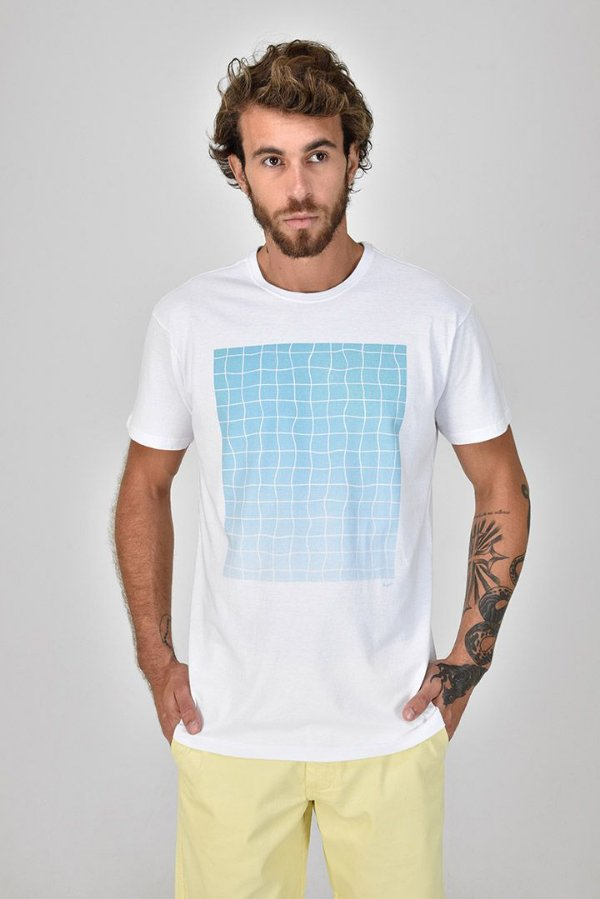 T-shirt Silk Piscina