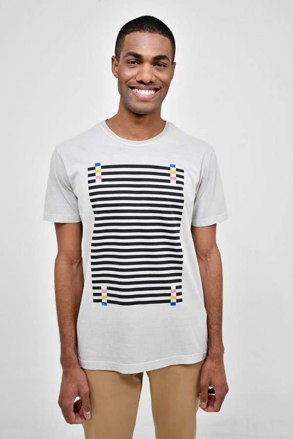 T-Shirt Silk Techinocolor