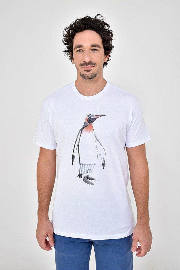 T-Shirt Silk Pinguim
