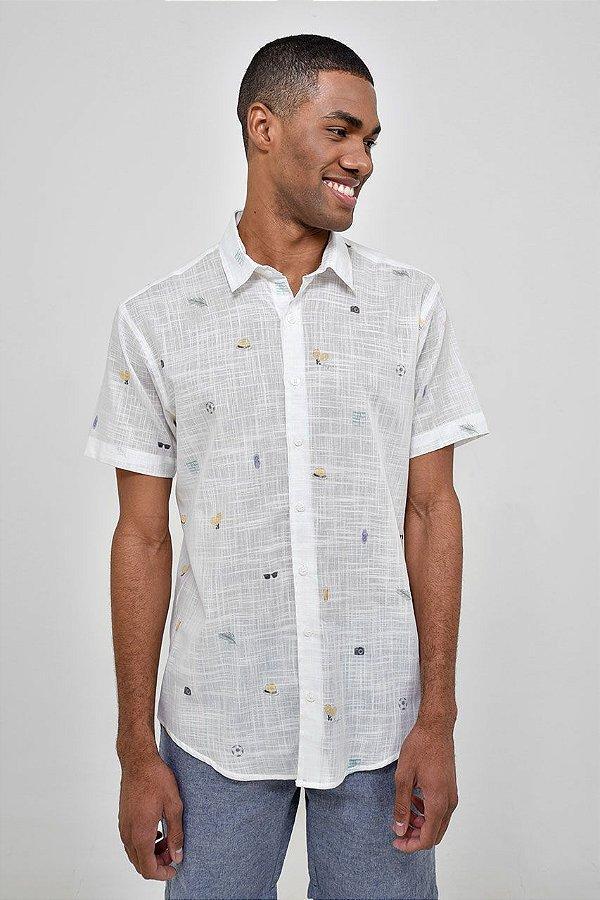 Camisa Manga Curta Carioca