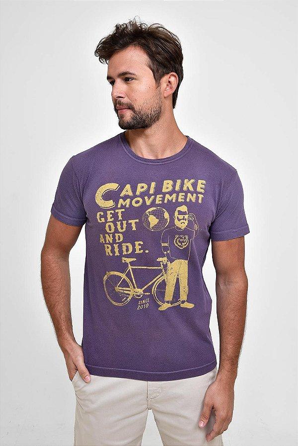 T-Shirt Silk Get Ride