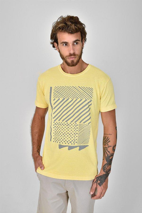 T-shirt Silk Cross
