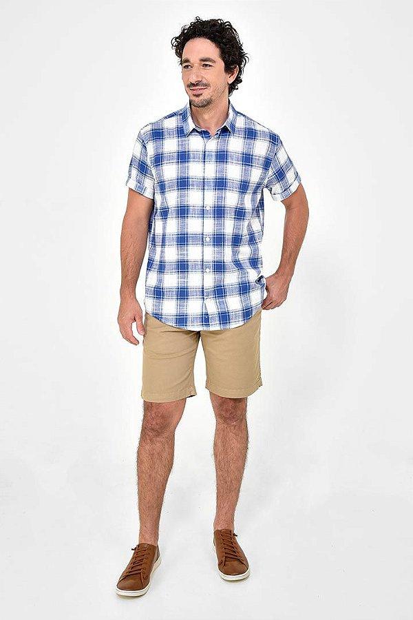 Camisa Manga Curta Pontal