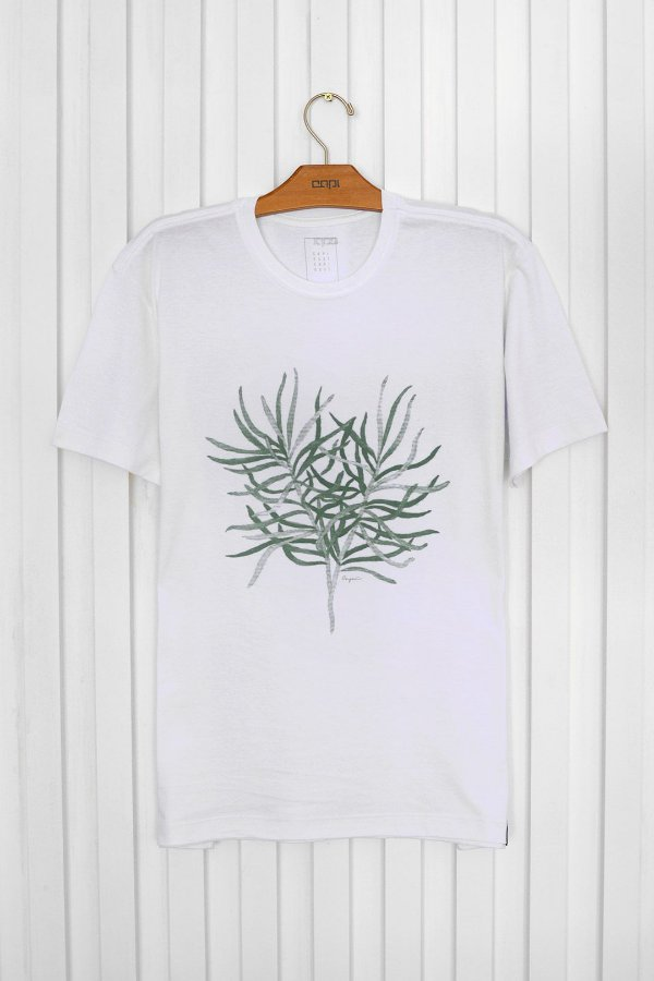 T-shirt Silk Suculenta