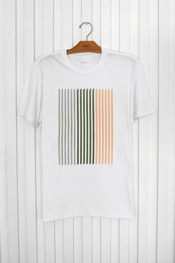 T-shirt Silk Faixa Color