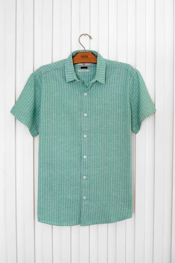 Camisa M/C Linho Paraty