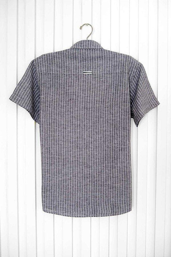 Camisa M/c Linho Buzios