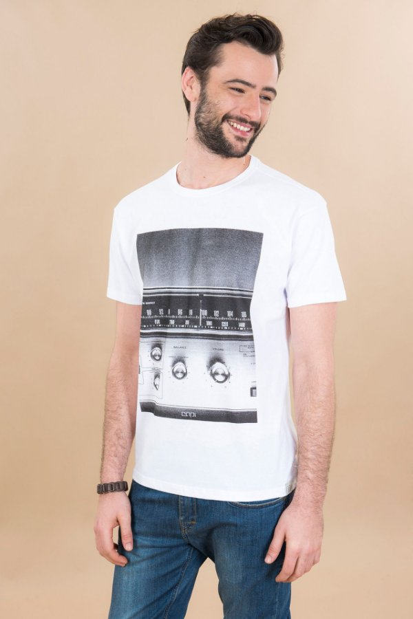 T-shirt Silk Panel