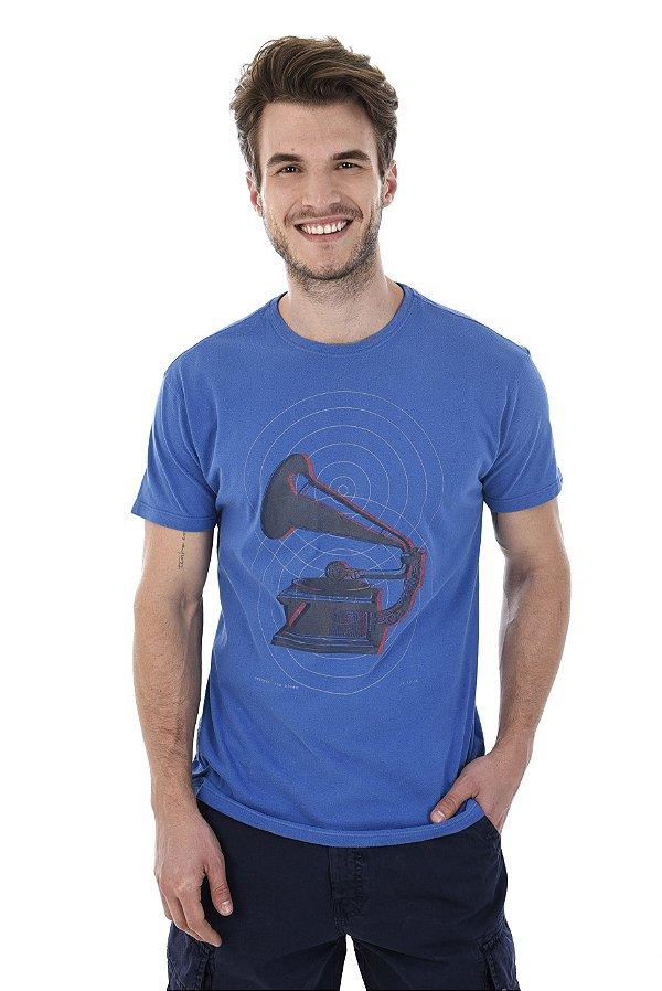 T-shirt Silk Blues