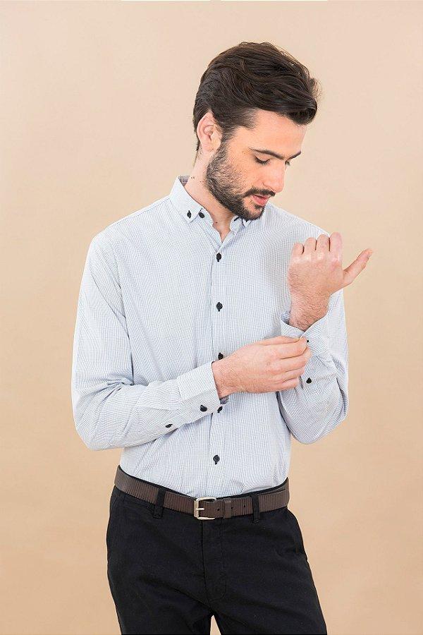 Camisa Mini Grid