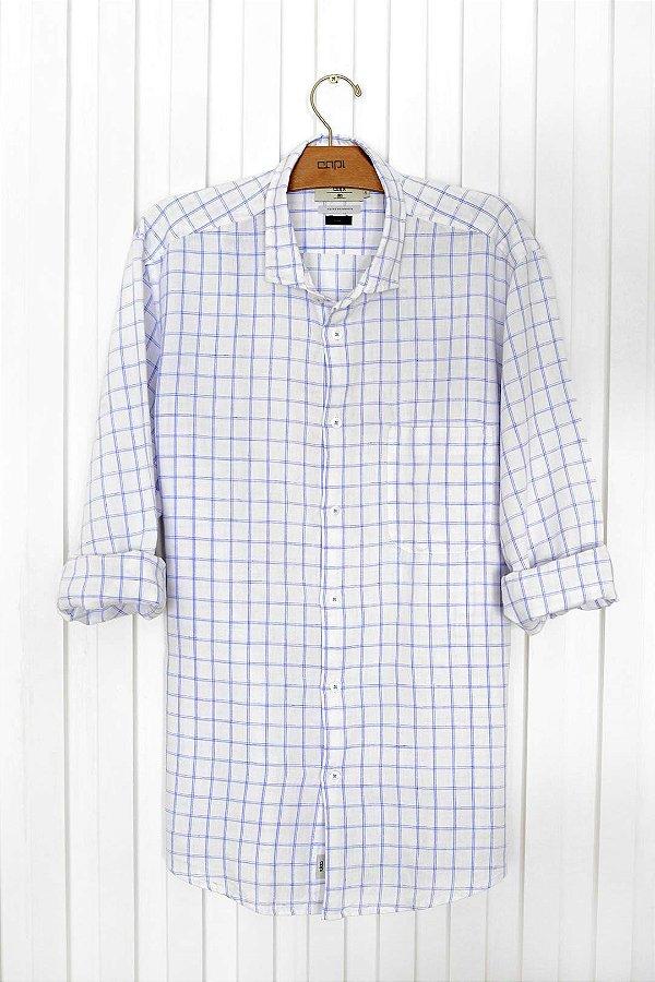 Camisa Linho Blues